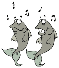 pair of singing fish